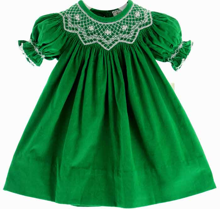 Green frock designs in Pakistan