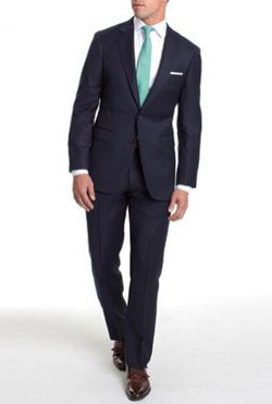 Black groom wedding suit