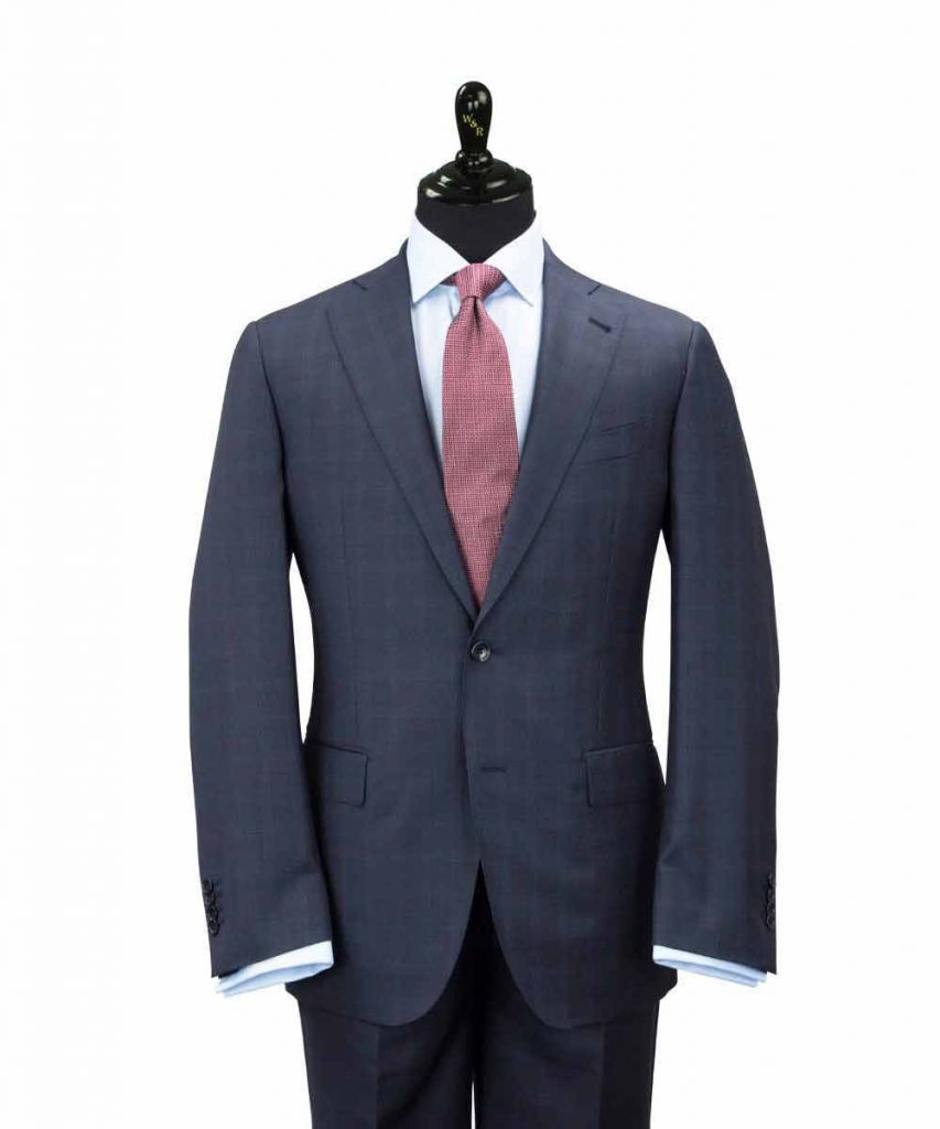 Charcoal suit for groom