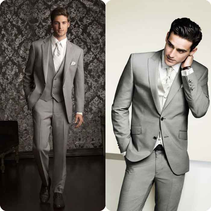 Grey walima dress suit for groom