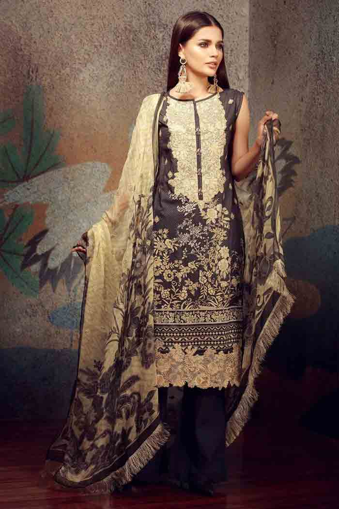 Pakistani lawn kameez shalwar designs for girls
