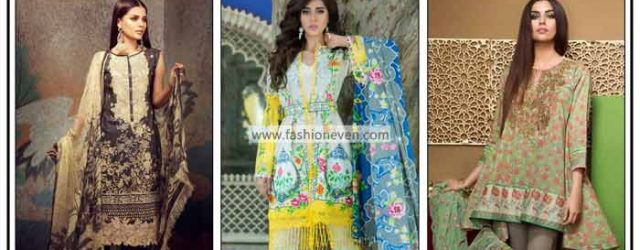 Pakistani lawn dresses stitching designs for girls