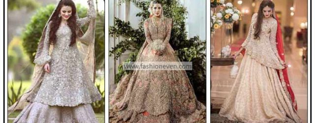 Latest bridal walima dresses in Pakistan