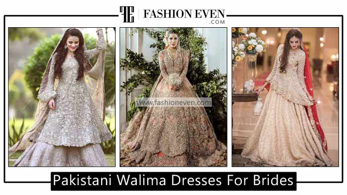 Latest Bridal Walima Dresses In Pakistan For 2020