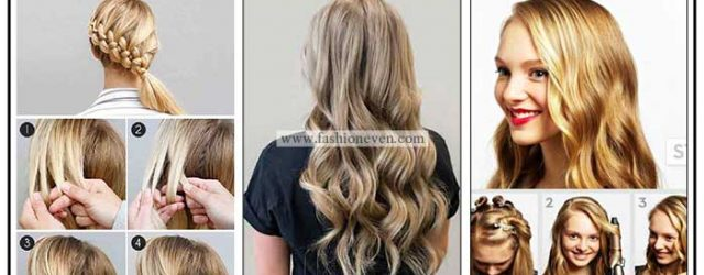 Latest Christmas hair tutorials step by step for girls