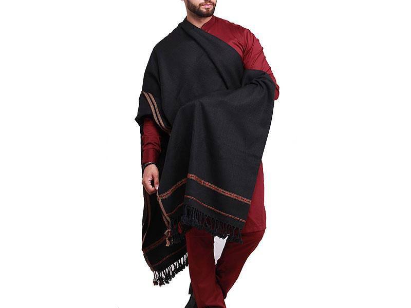 Black shawls for winter season