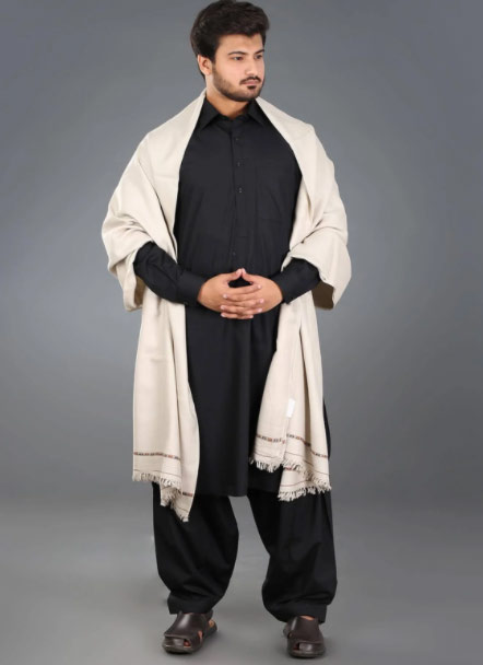 White shawls for winter