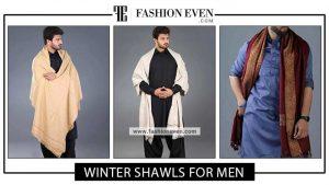 Latest winter shawls for men