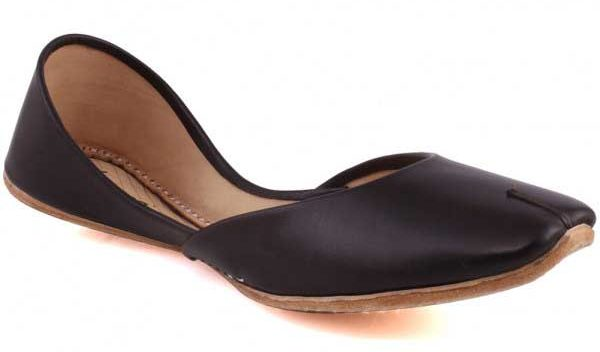 Latest black khussa shoes for ladiies
