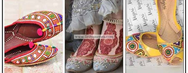 New khussa designs for ladies in Pakistan