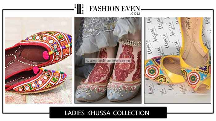 Latest Casual Khussa Designs For Ladies In 2020