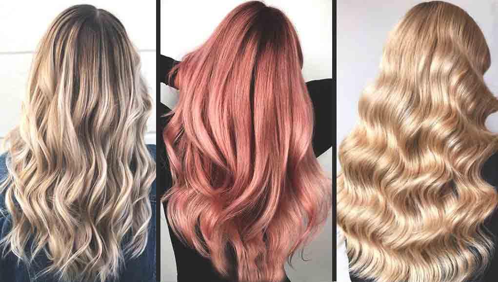 Trendy hair color for full hair length