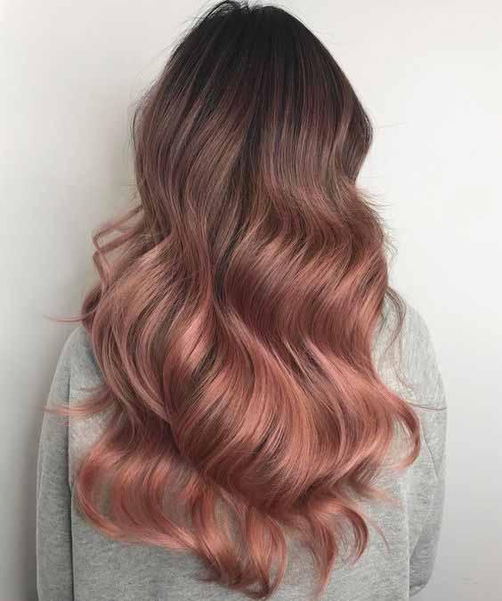 Latest hair dye ideas for long hair