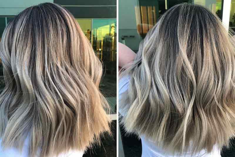Trendy hair dye colors for short hair