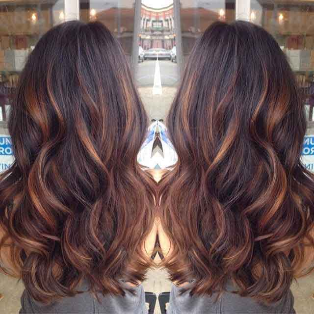 Latest low lghts hair color for Pakistani girls