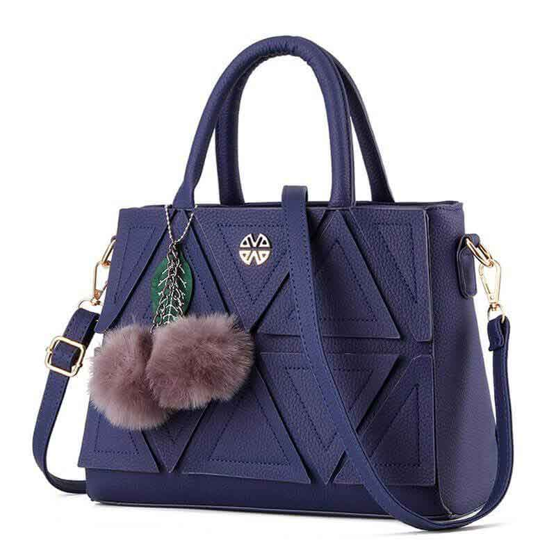 Latest blue handbag designs for girls