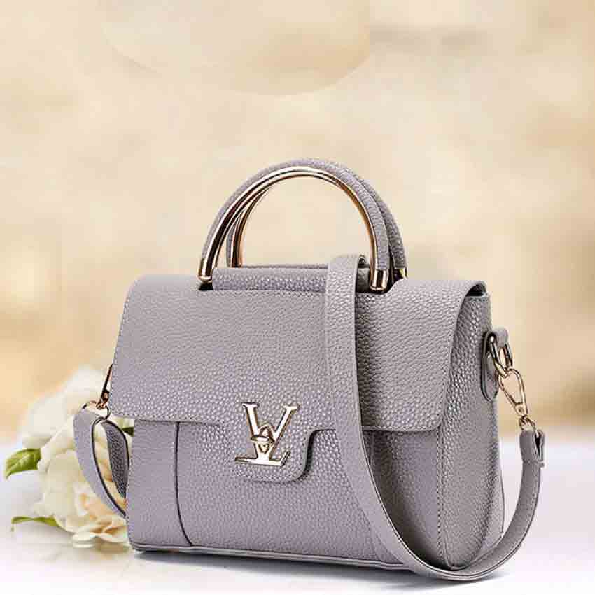 Grey handbag designs for girls