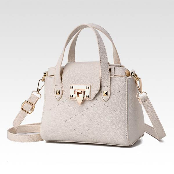 Latest white handbag design for girls