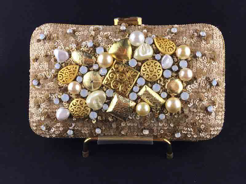 Latest fancy shoulder clutch for girls