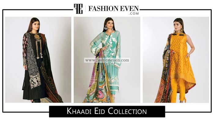 Latest khaadi eid collection for Pakistani girls