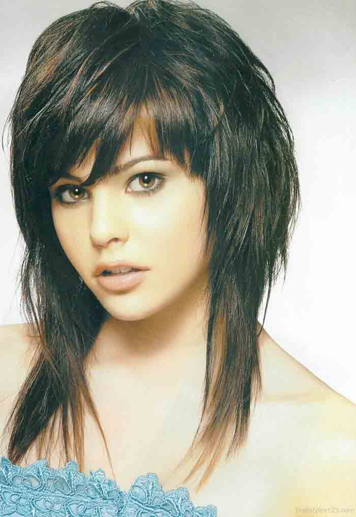 Best emo haircut style for girls