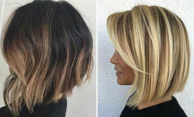 New lob haircut ideas for girls