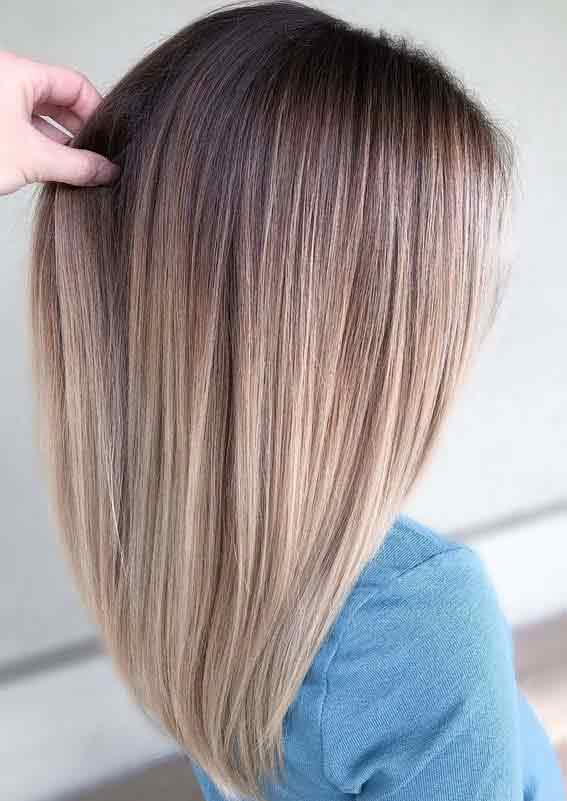 Latest straight haircut and hairstyles for girls