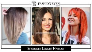 Medium shoulder length haircuts and hairstyles for girls