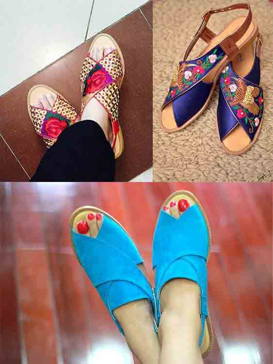 Best peshawari chappal designs for girls
