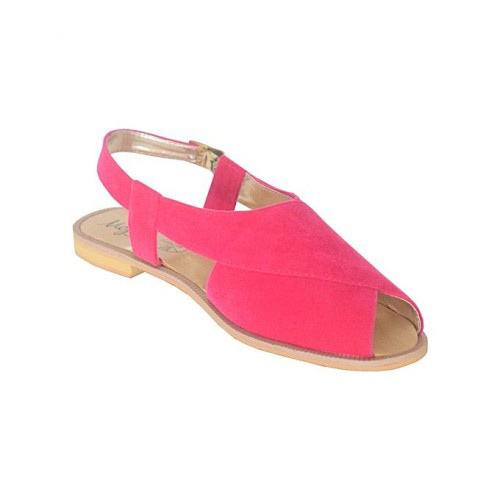 Pink peshawari chappal design for ladies