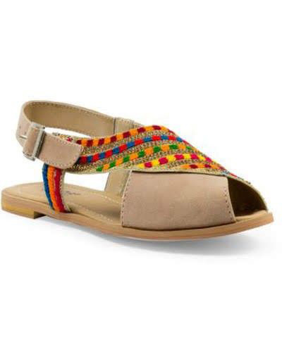 Skin peshawari chappal design for girls