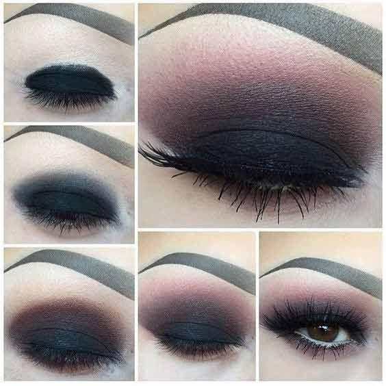 Best black smokey eye makeup for girls