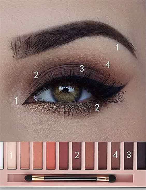 New smokey eye makeup tutorial