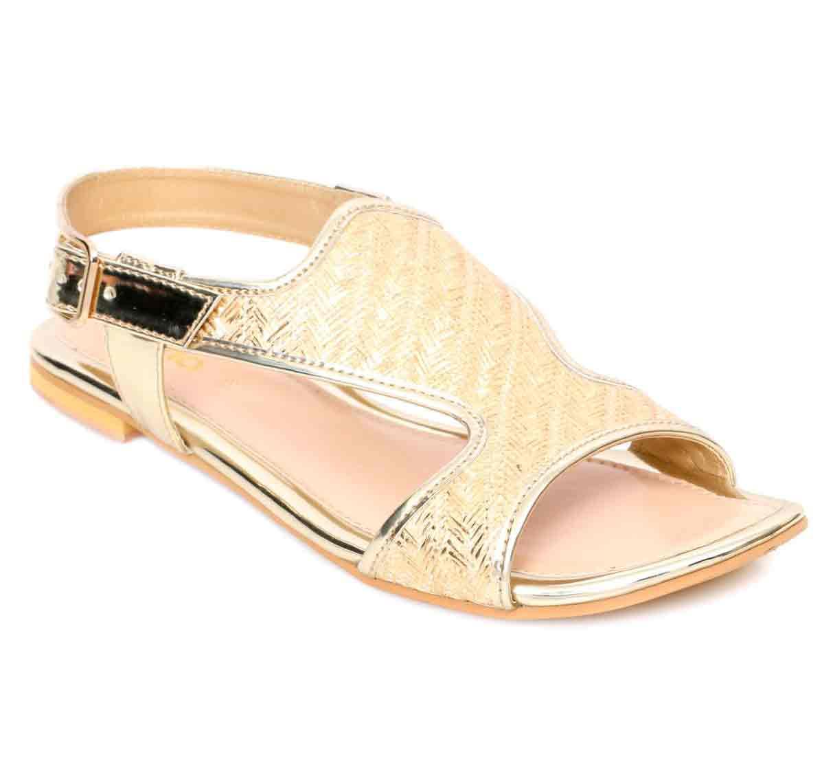 Golden kheri stylo shoes for eid