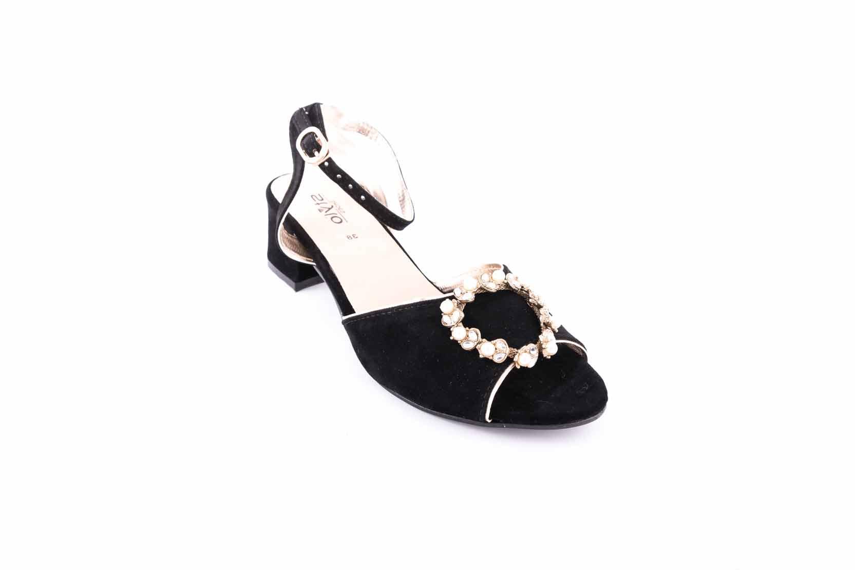 Stylo Black sandal for Eid