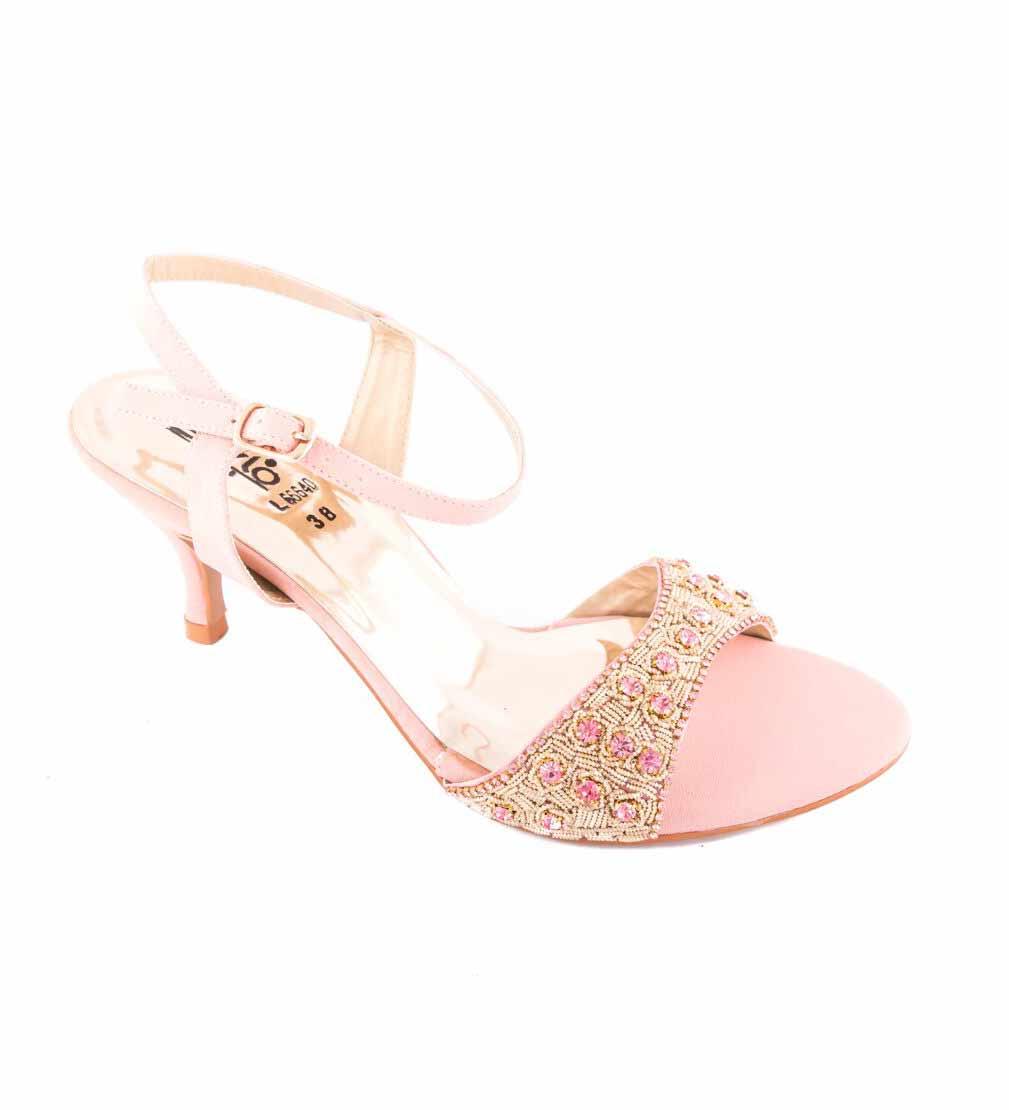 Fancy pink heels for Eid