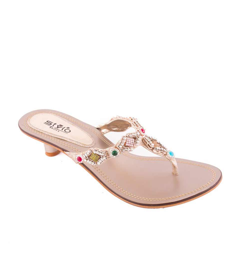 Fancy sandal by stylo shoes Eid collection