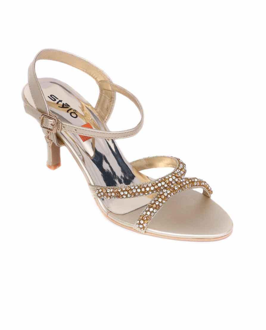 Fancy heels by stylo shoes