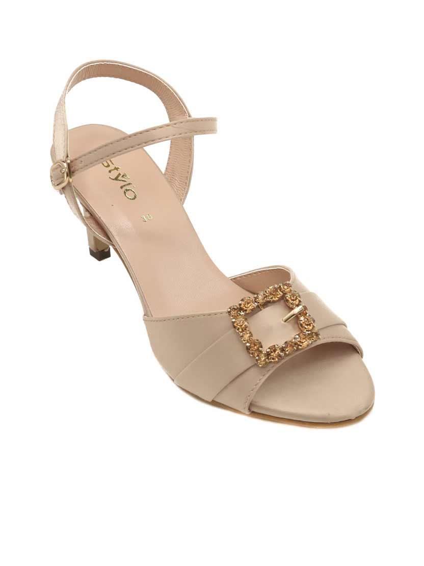Fancy heels by stylo shoes for Eid