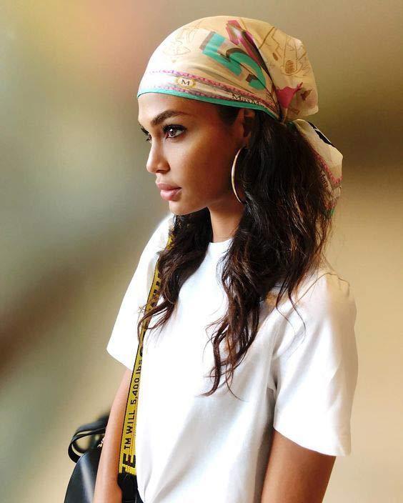 Turban head scarf style
