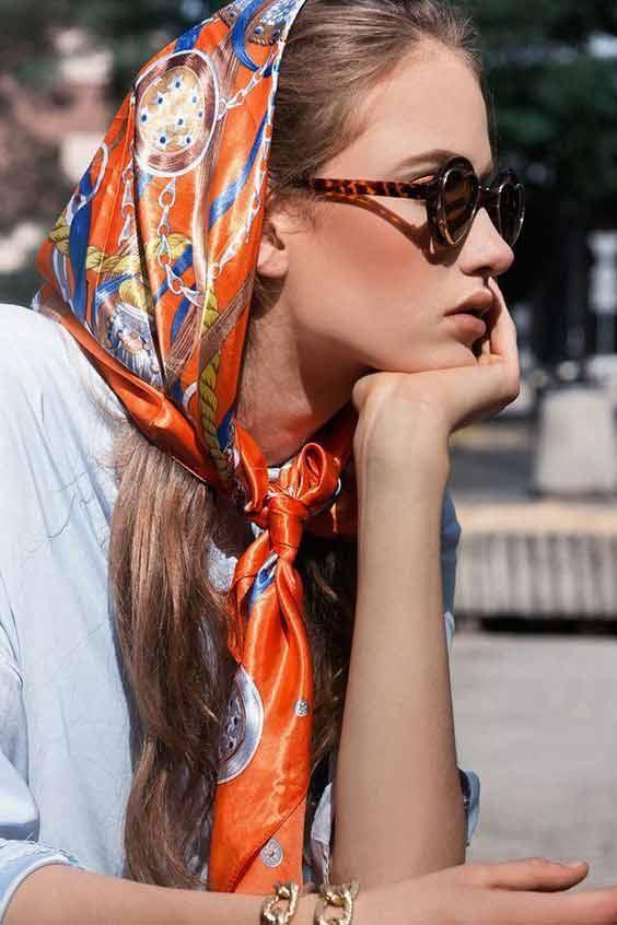 Vintage headband style