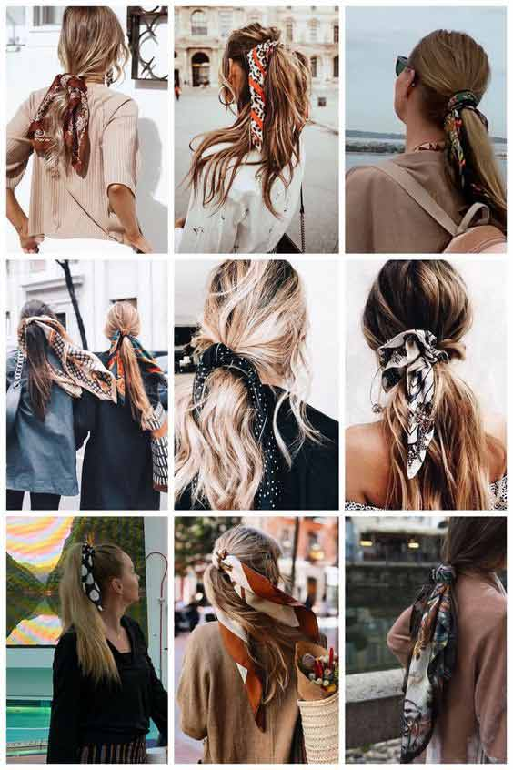 Head wrap hairstyle ideas for girls
