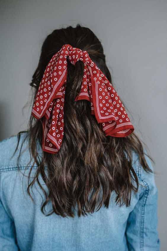Bandana hair headband