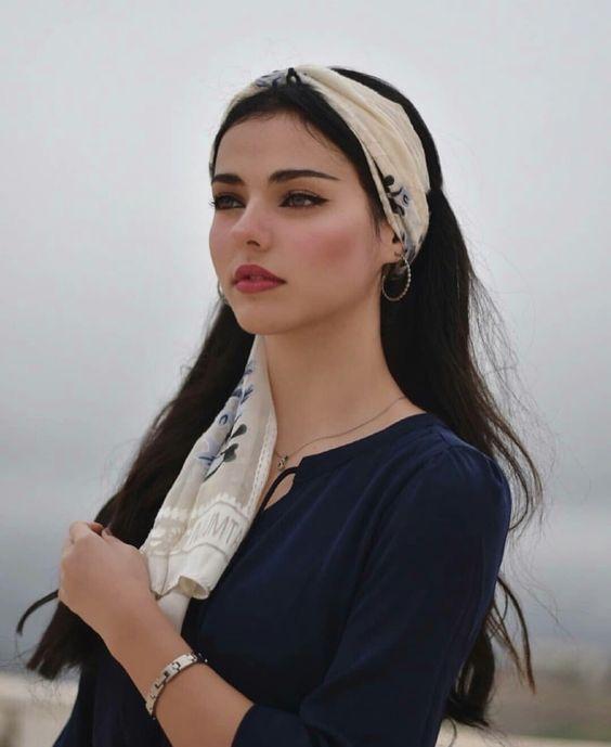 Boho wrap style headband
