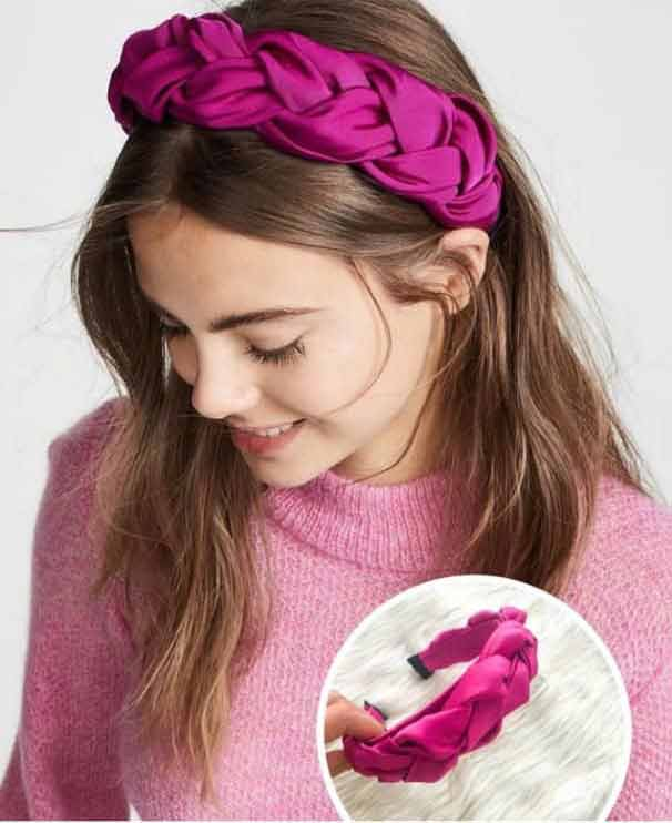 Floral headband for girls