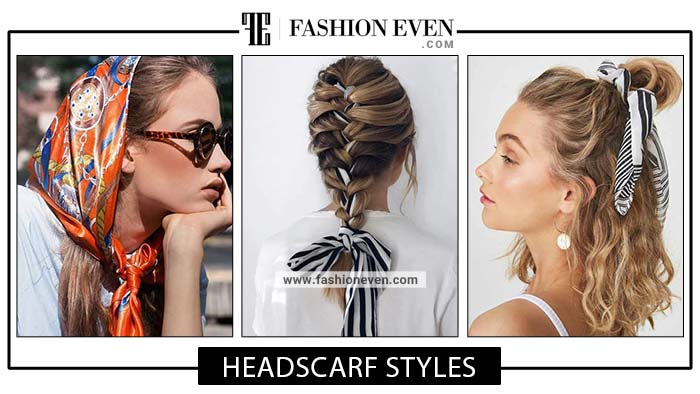 Head scarf hairstyles for girls