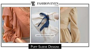 Puff sleeve designs for girls