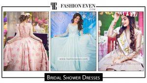 Bridal shower dresses in Pakistan