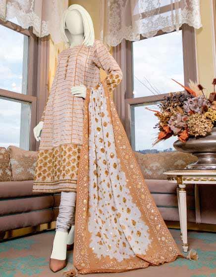 Unstitched casual dress design