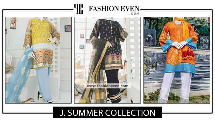 J. Summer Collection For Girls In 2021 | Pret, Stitched, Unstitched, Kurti